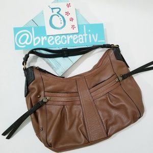 Born Boho Bag Genuine Leather Brown Black
